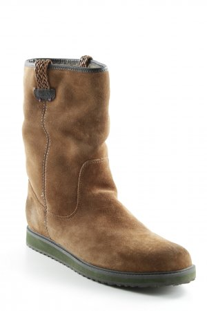 Mexx Booties light brown-brown classic style