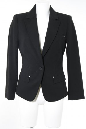 Mexx Boyfriend-Blazer schwarz Business-Look