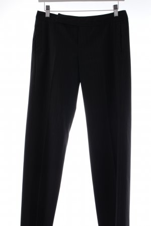 Mexx Bundfaltenhose anthrazit Nadelstreifen Business-Look