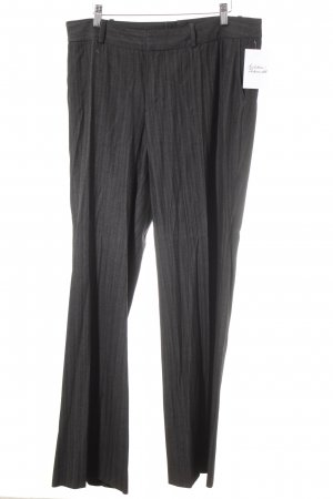 Mexx Pleated Trousers anthracite-black houndstooth pattern business style