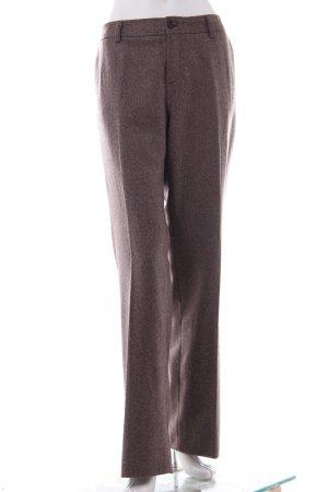Mexx Pantalon à pinces brun noir-beige