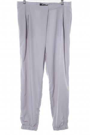 Mexx Pantalon à pinces gris clair style d'affaires
