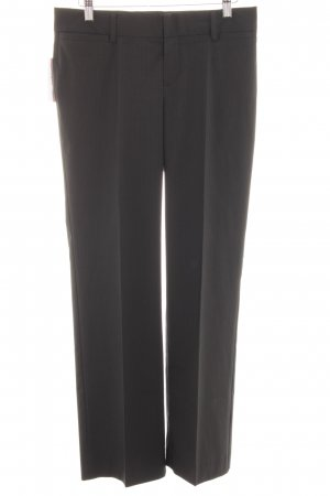 Mexx Pleated Trousers black pinstripe business style