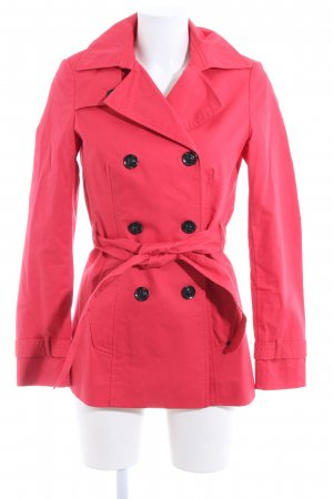 Mexx Pea Jacket red casual look