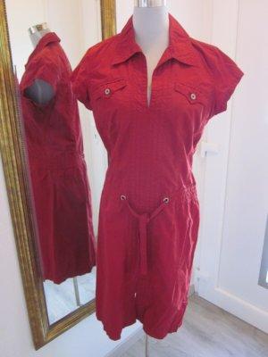 Mexx Cargo Kleid Rot Gr 42
