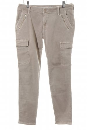 Mexx Pantalone cargo beige stile casual