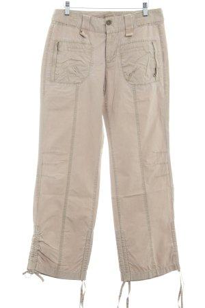 Mexx Pantalone cargo color cammello nude look