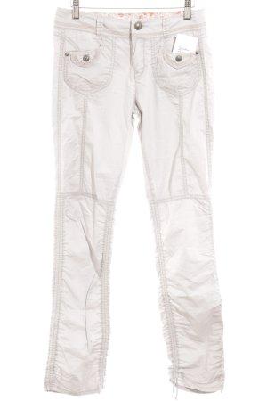 Mexx Pantalone cargo grigio chiaro stile safari