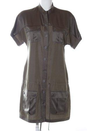 Mexx Robe cargo kaki-brun style d'affaires