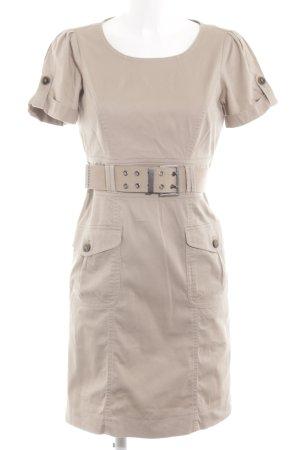 Mexx Vestido de camuflaje blanco puro look casual