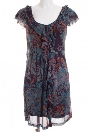 Mexx Chiffonkleid abstraktes Muster Casual-Look