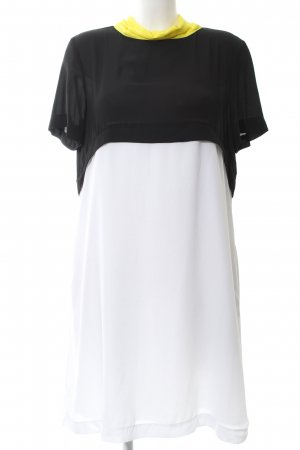 Mexx Chiffon jurk colour blocking elegant