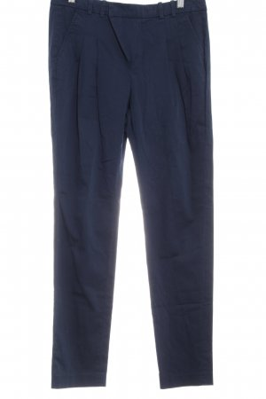 Mexx Chinohose dunkelblau Business-Look