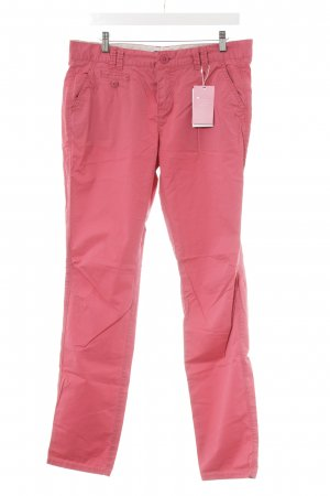 Mexx Chinohose himbeerrot Casual-Look