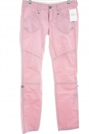 Mexx Chinohose rosa Casual-Look
