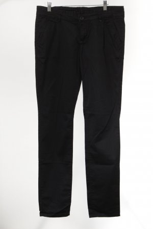 Mexx Chinohose schwarz Casual-Look
