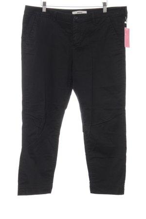 Mexx Pantalone di velluto a coste nero stile casual