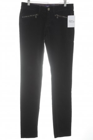 Mexx Corduroy Trousers black casual look