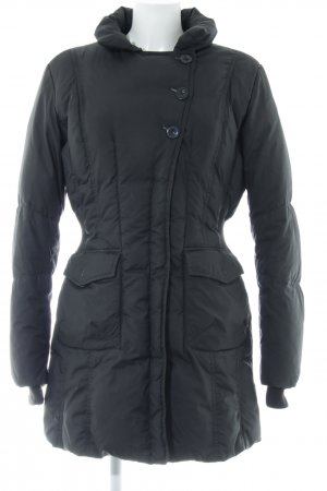 Mexx Down Coat black quilting pattern casual look