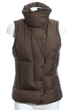 Mexx Down Vest bronze-colored quilting pattern casual look