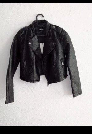 Mexx Faux Leather Jacket black