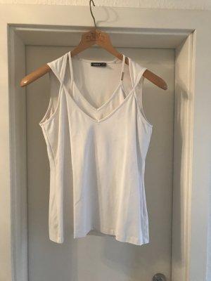 MEXX Doppelshirt weiß Größe L