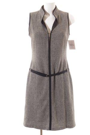 Mexx Etuikleid grau-schwarz schlichter Stil