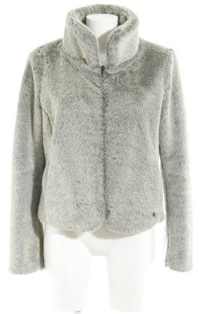 Mexx Giacca di pelliccia grigio elegante