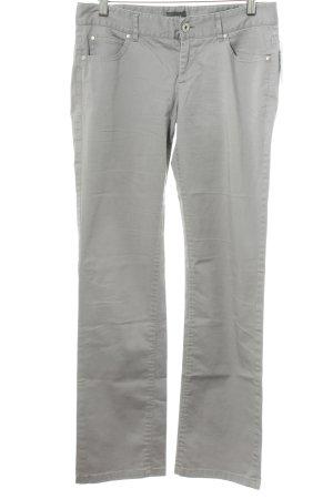 Mexx Pantalon cinq poches gris clair style décontracté