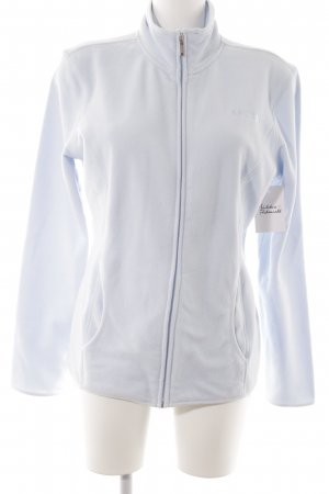 Mexx Fleece Jackets baby blue-light blue simple style