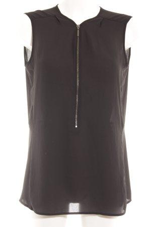 Mexx Glanzende blouse zwart elegant
