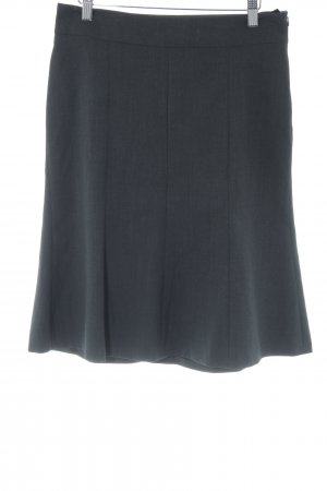 Mexx Godet Skirt dark grey flecked