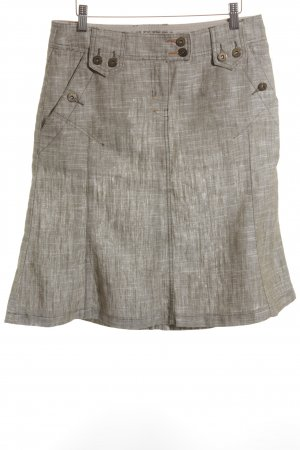Mexx Godet Skirt green grey-natural white flecked casual look