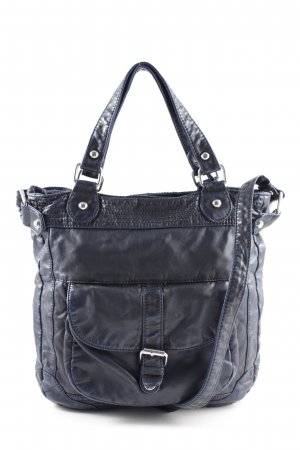 Mexx Handtasche blau Business-Look