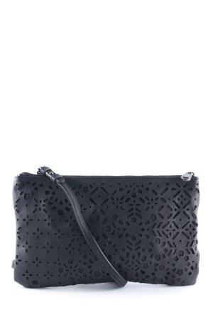 Mexx Sac à main noir motif abstrait style décontracté