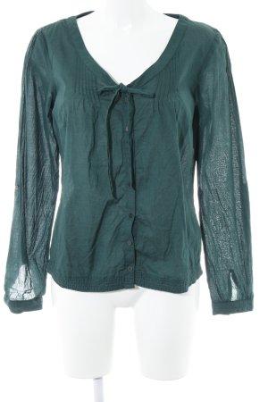 Mexx Hemd-Bluse dunkelgrün Casual-Look