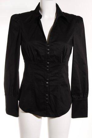 Mexx Hemd-Bluse schwarz extravaganter Stil