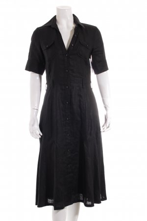 Mexx Hemdblusenkleid schwarz Casual-Look