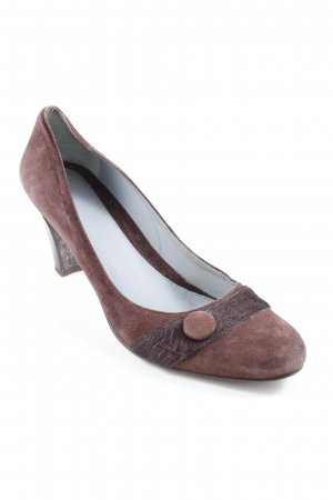 Mexx High Heels braun-dunkelbraun Casual-Look