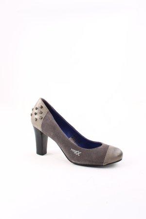 Mexx High Heels grau-graublau Party-Look