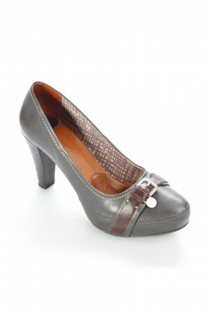 Mexx High Heels graubraun Business-Look