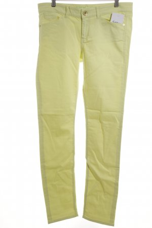 Mexx High Waist Jeans blassgelb Casual-Look