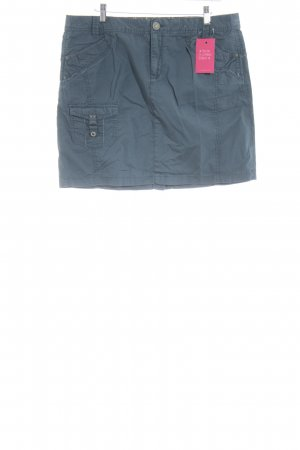 Mexx High Waist Rock stahlblau Casual-Look