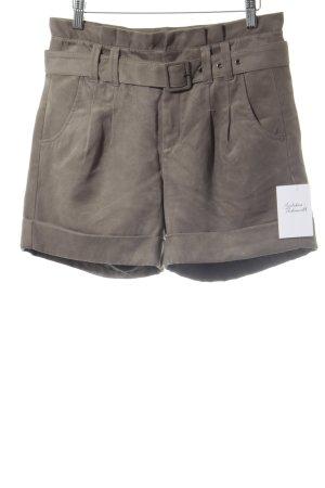 Mexx High-Waist-Shorts khaki Safari-Look