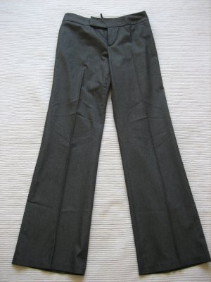 mexx hose buerohose elegant grau gr. 34 xs/36 s top zustand