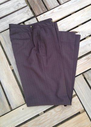 Mexx Pantalon de costume brun foncé