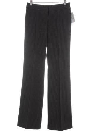 Mexx Hosenanzug schwarz-dunkelgrau Streifenmuster Business-Look