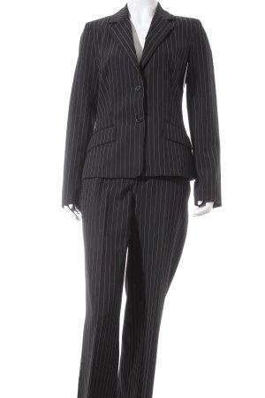 Mexx Hosenanzug schwarz-weiß Nadelstreifen Business-Look