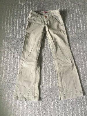 Mexx Low-Rise Trousers khaki