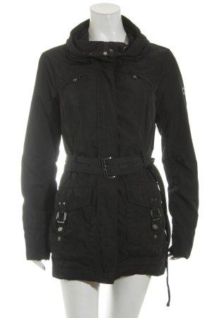 Mexx Jacke schwarz schlichter Stil